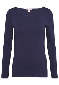 Anna Field - 2 PACK - T-shirt à manches longues - white/navy - 1