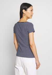 Anna Field - 2 PACK - T-shirts med print - navy/white - 3