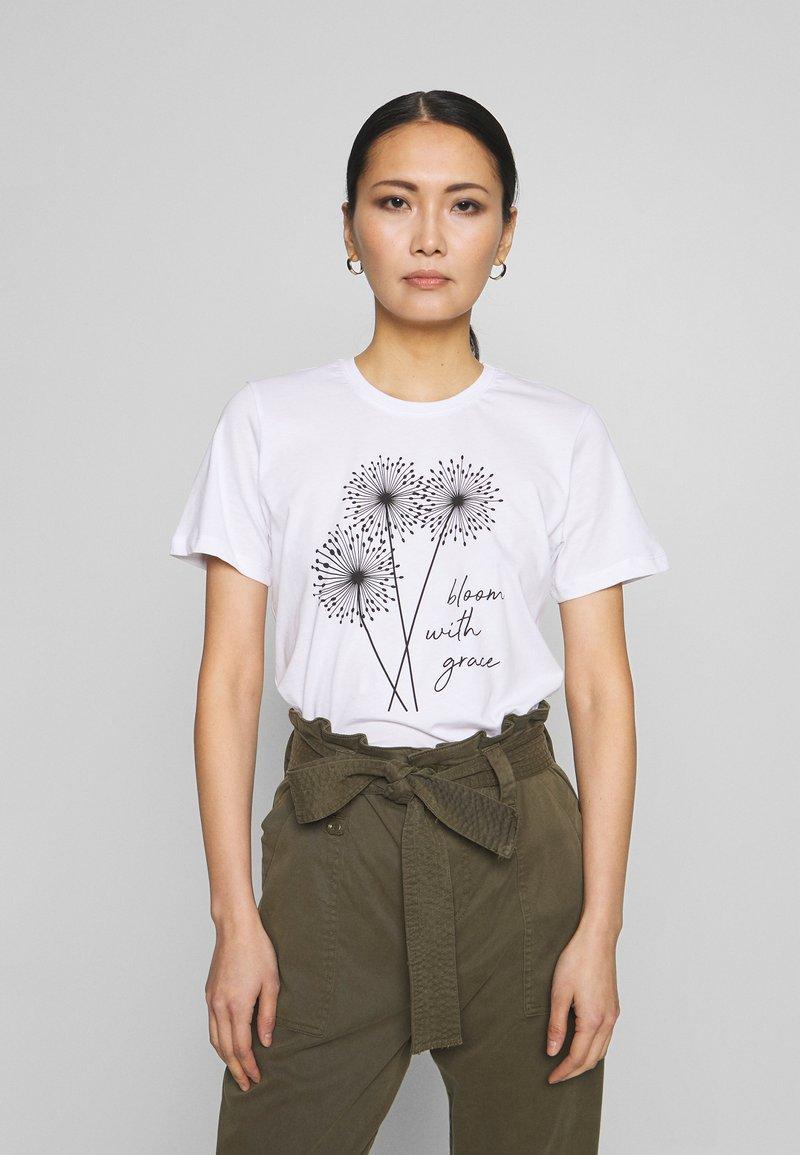 Anna Field - T-Shirt print - white