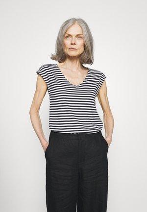 T-shirt con stampa - black/white