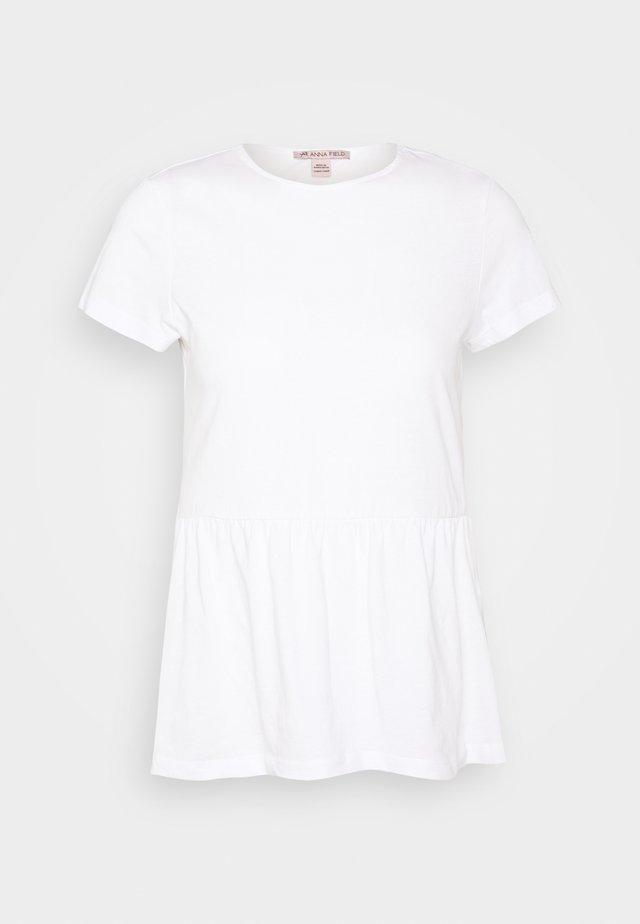 BABYDOLL - T-Shirt print - white