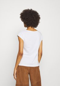 Anna Field - 2 PACK - T-shirt basic - white/white - 2