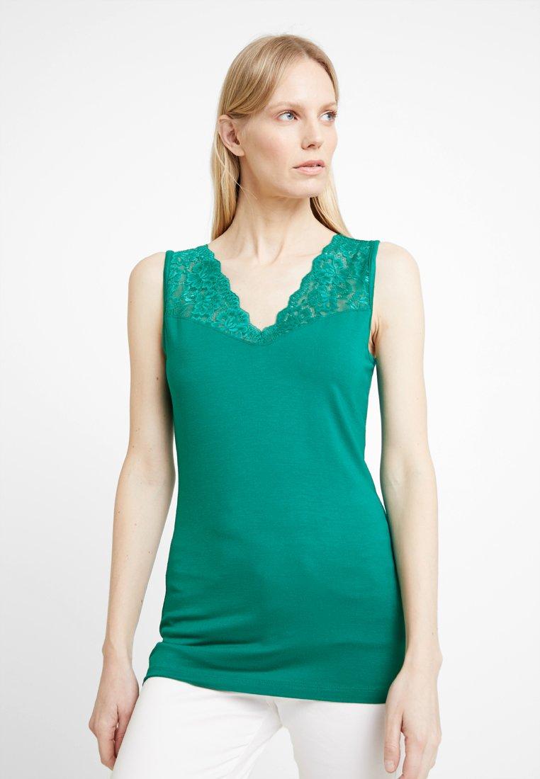 Anna Field - Top - cadmium green