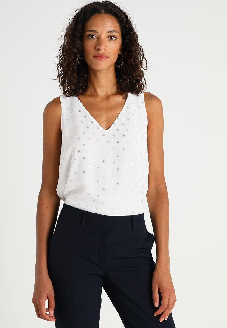 Anna Field - Blouse - silver/off white