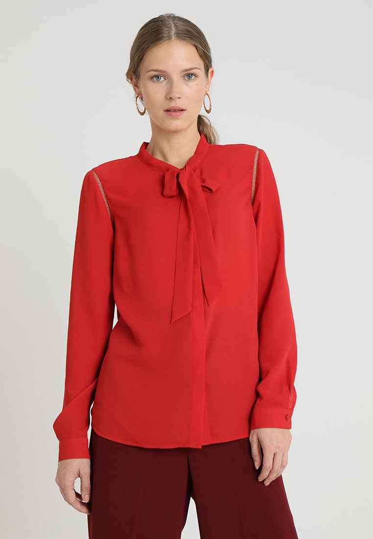 Anna Field - Button-down blouse - red