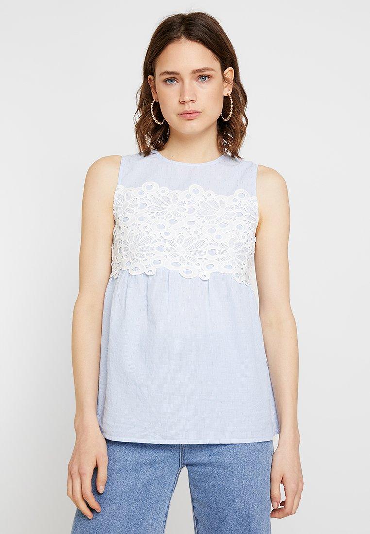 Anna Field - Camicetta - white/light blue