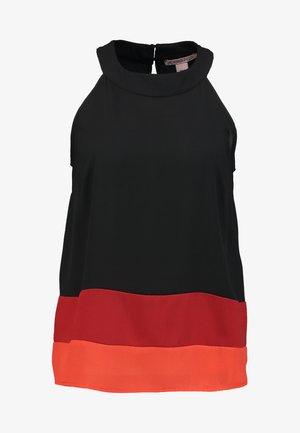 Blouse - black  multicoloured