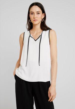 Camicetta - white/black
