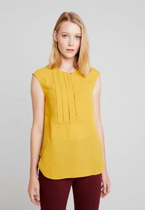 Blus - golden yellow