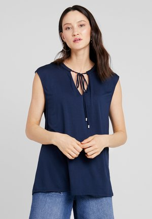 Bluse - maritime blue