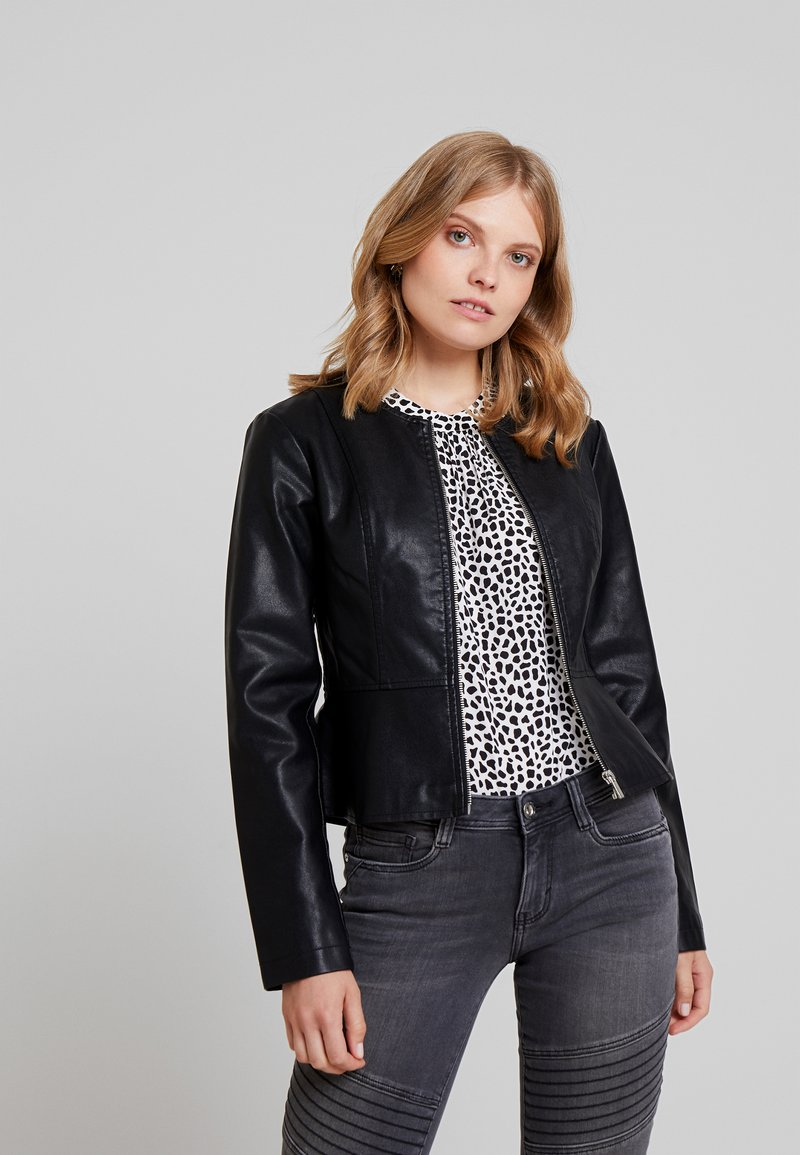 Anna Field - Faux leather jacket - black