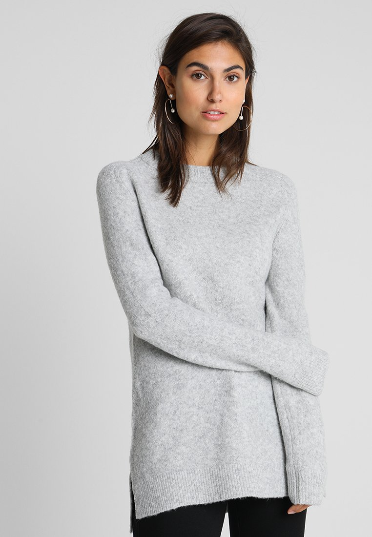 Anna Field - Strickpullover - light grey