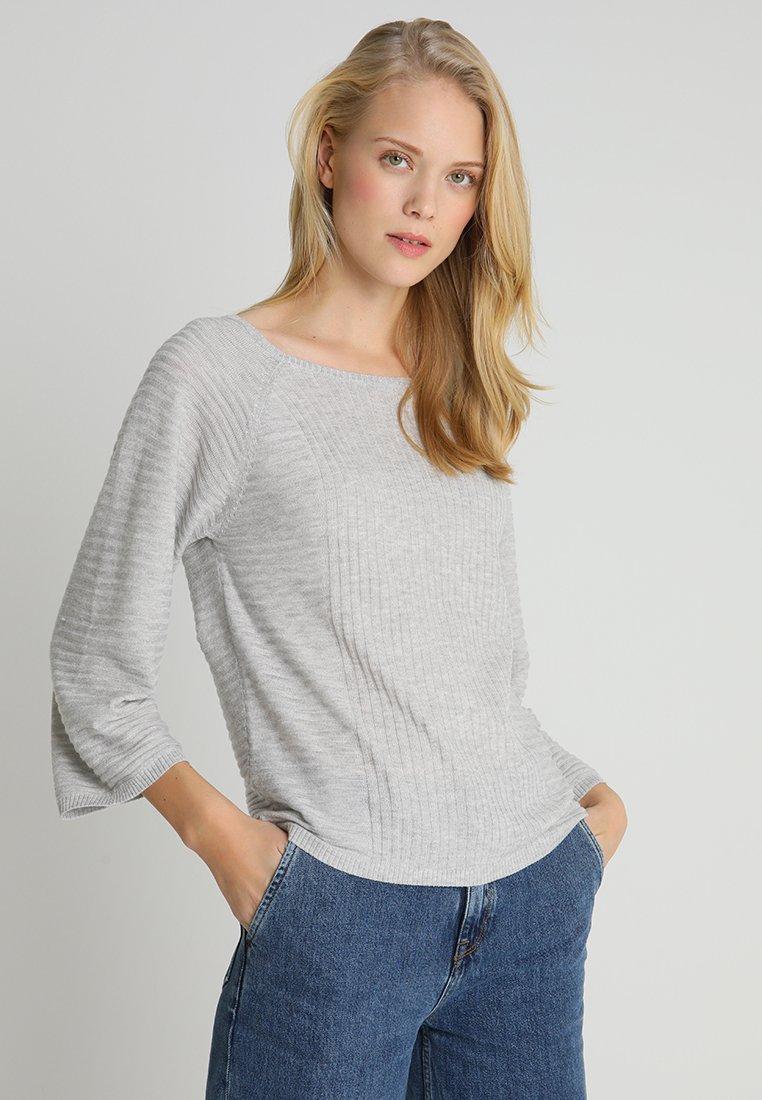 Anna Field - Strickpullover - mottled light grey