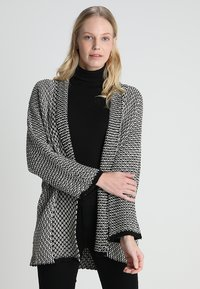 Anna Field - Strickjacke - black/off white - 0
