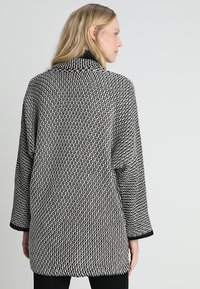 Anna Field - Strickjacke - black/off white - 2