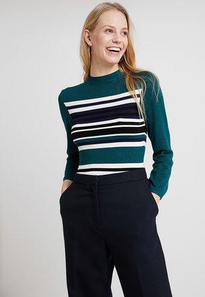 Jersey de punto - green/offwhite