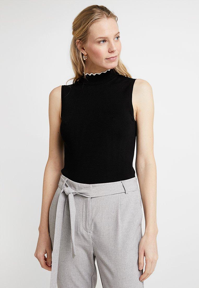 Anna Field - Top - black/off-white