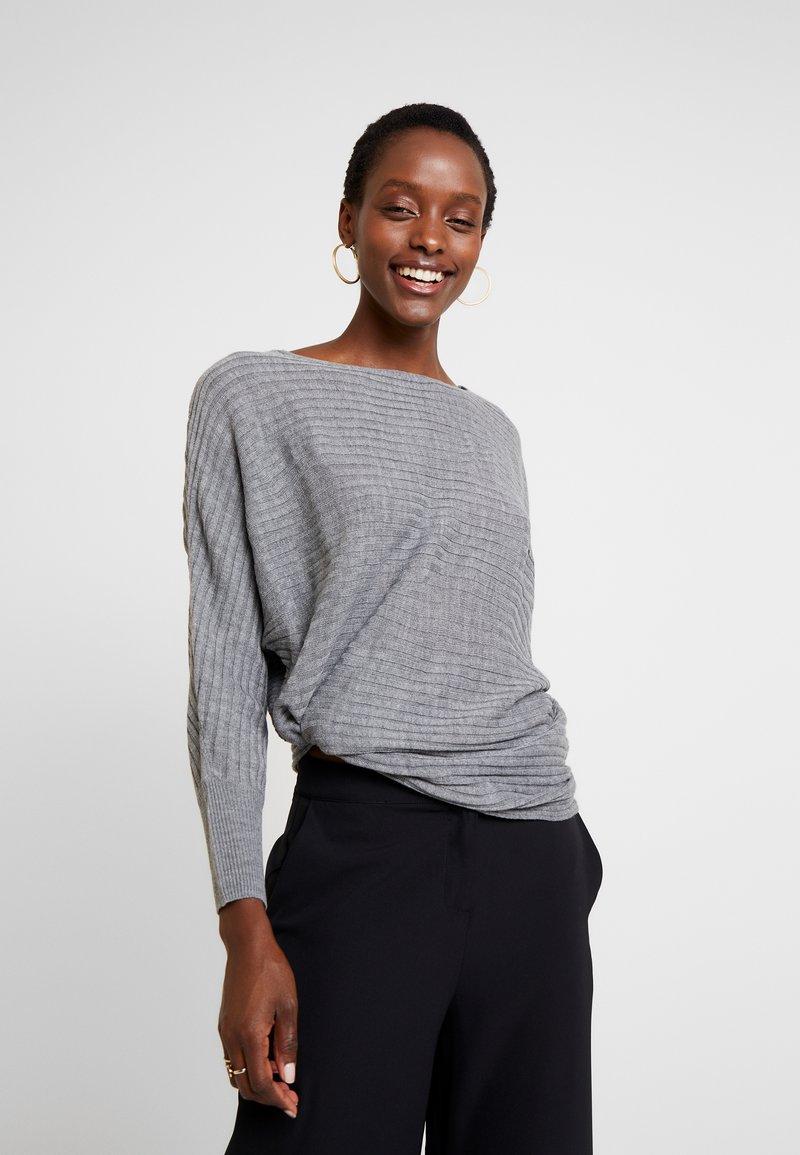 Anna Field - Stickad tröja - mid grey melange