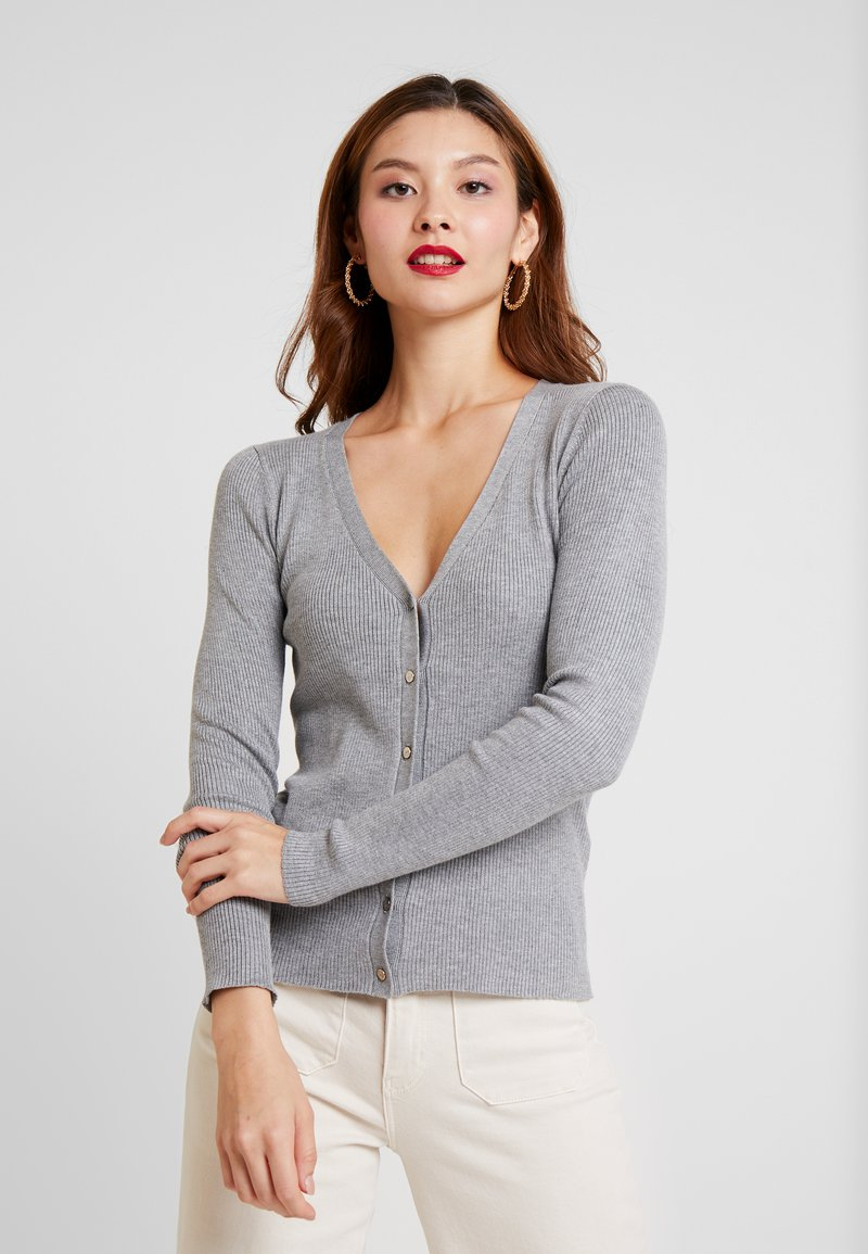 Anna Field - Cardigan - mottled grey