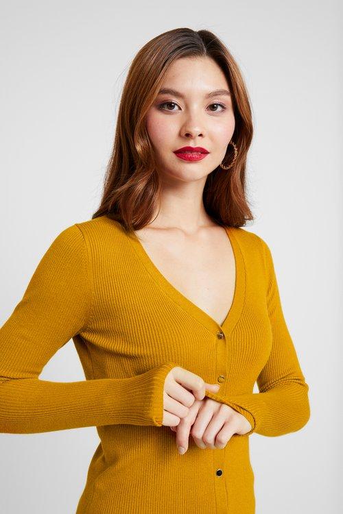 Anna Field Kardigan - mustard Odzież Damska OAWQ-PS1 gorąca wyprzedaż w 2019 roku