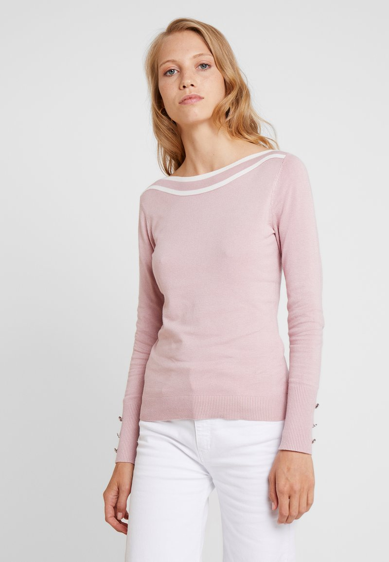Anna Field - Cardigan - rose/off-white