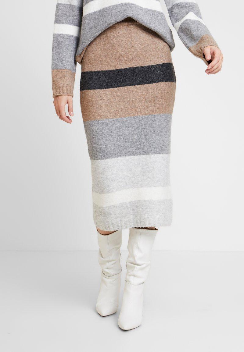 Anna Field - Pencil skirt - beige