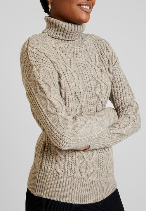 nowy Anna Field Sweter - taupe Odzież Damska EVBI-WT7