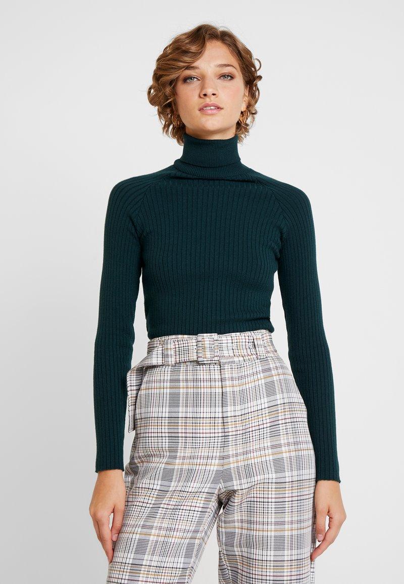 Anna Field - Stickad tröja - scarab