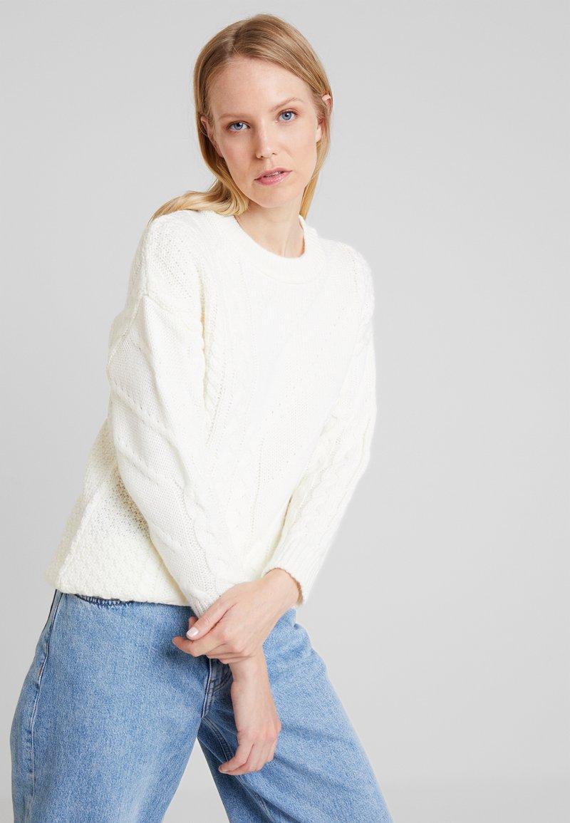 Anna Field - Strickpullover - off-white
