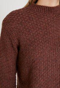 Anna Field - Stickad tröja - brown - 4
