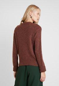 Anna Field - Stickad tröja - brown - 2