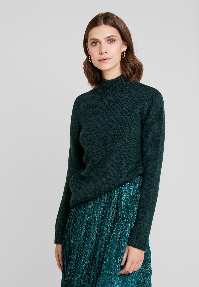 Anna Field - Stickad tröja - dark green