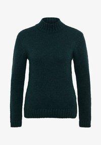 Anna Field - Stickad tröja - dark green - 3