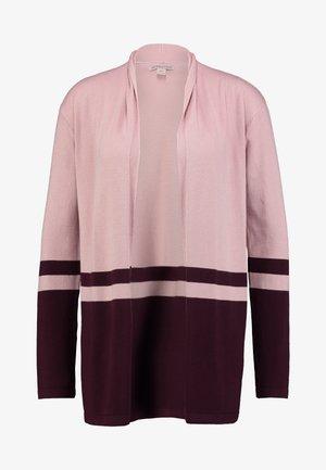 Cardigan - pale pink