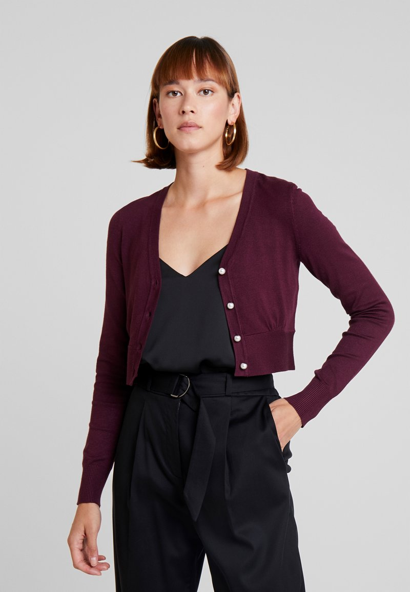 Anna Field - Gilet - bordeaux