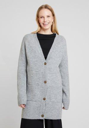 Kardigan - mid grey melange