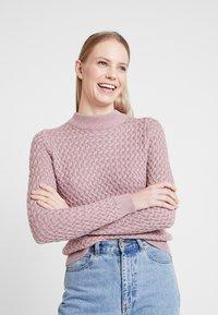 Anna Field - Strikkegenser - pale pink - 3