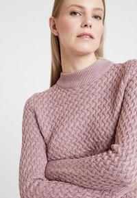 Anna Field - Strikkegenser - pale pink - 5