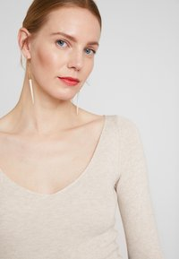Anna Field - Strikkegenser - beige melange - 4