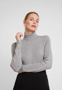 Anna Field - Sweter - grey melange - 3