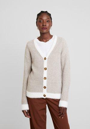 Cardigan - white/beige