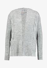 Cardigan - light grey mel