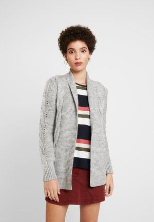 Strickjacke - light grey mel