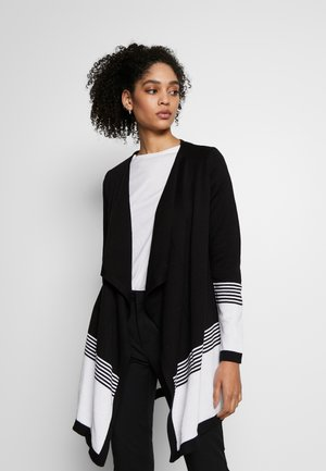 Strikjakke /Cardigans - black/off-white