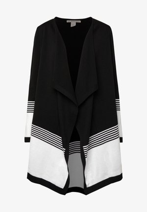 Cardigan - black/off-white