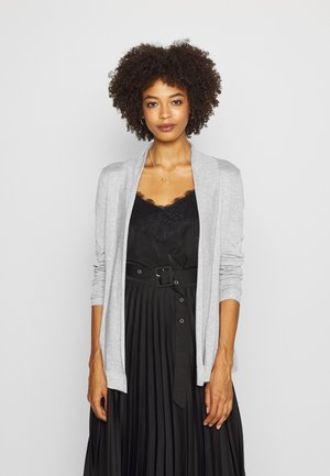 Cardigan - grey melange