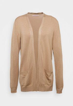 BASIC- Pocket cardigan - Vest - camel