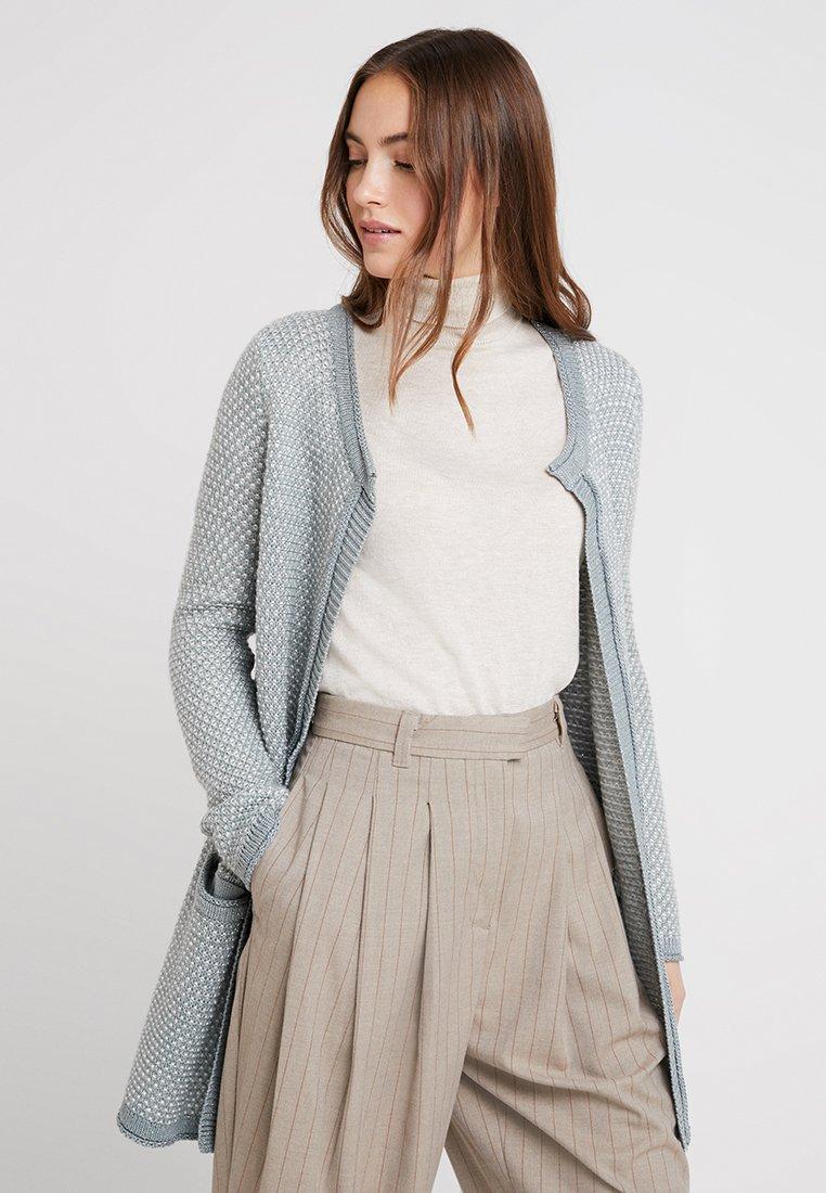 Anna Field - Cardigan - blue-grey/white
