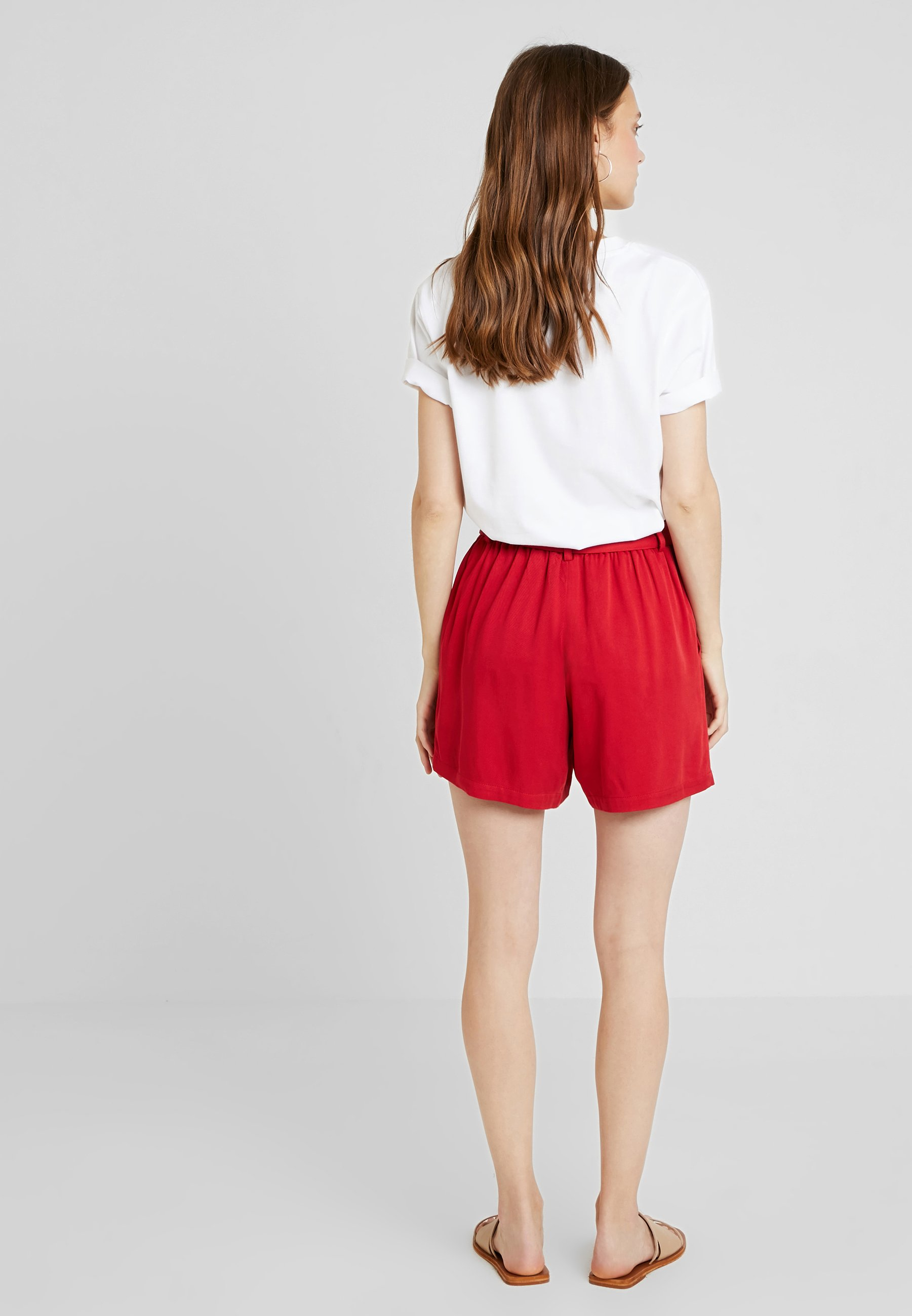 Anna Field Shorts - red