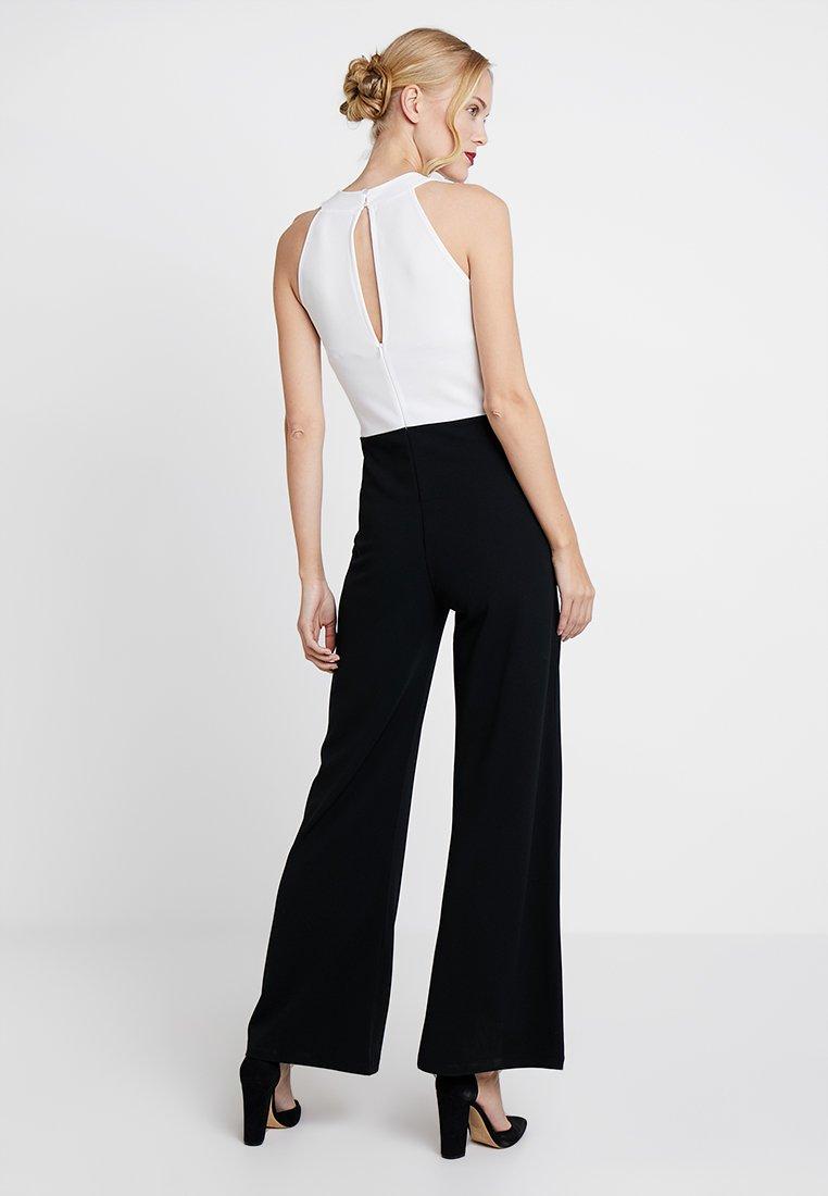 Anna Field Tuta jumpsuit white/black